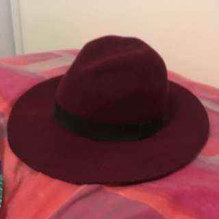 Agent 99 Maroon Hat