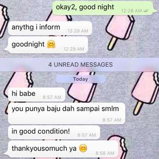 Feedback from customer 💕