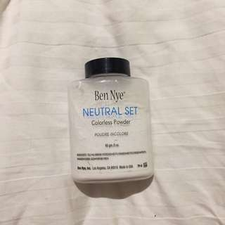 Ben Nye Colourless Powder