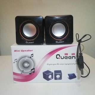 Queen Mini Portable USB Powered Speaker