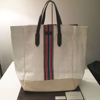 Gucci 'Trademark' shopping tote bag