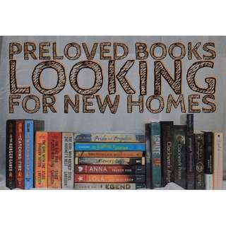 Looking for Preloved Books and Cheap Brand New Books? Come and Get it here!