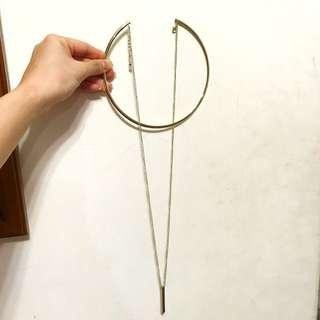 雙層頸圈長項鍊