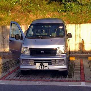 Daihatsu petrol van for short and long term rent - P-plate drivers welcome!