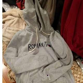 wood wood x champion romanti hoodie
