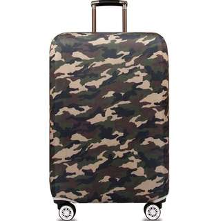 PO Camouflage Prints Stretchable Luggage Casing