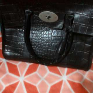 100% Authentic Mulberry Croc Embossed