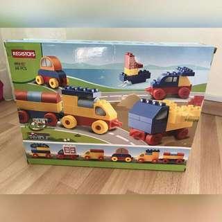 Lego-like toy