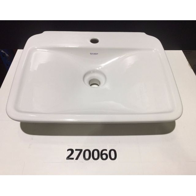 270060 Duravit PuraVida Wall Mount Washbasin W/o Overflow, Furniture,  Others On Carousell