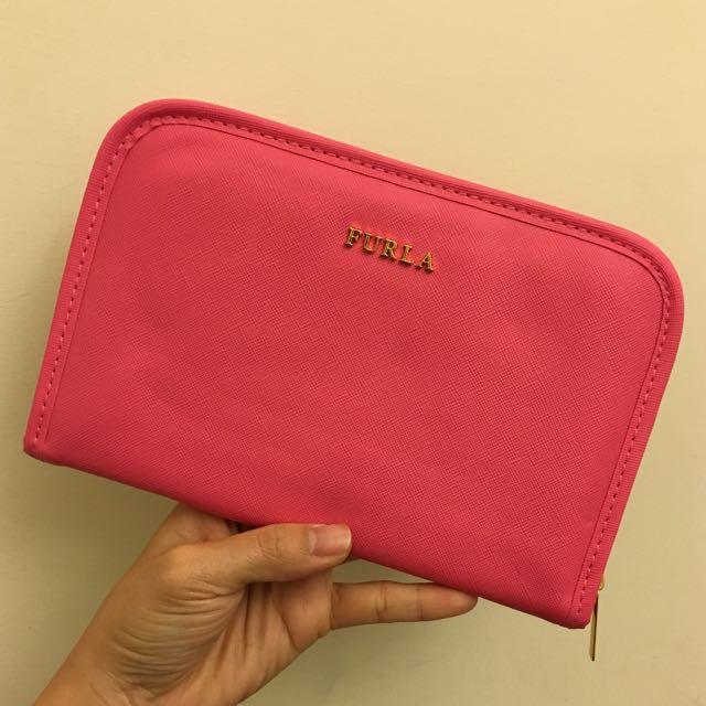 ✈️桃色護照夾