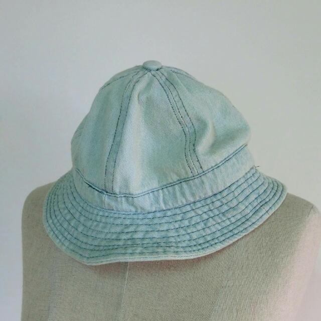 淺色牛仔軟料漁夫帽
