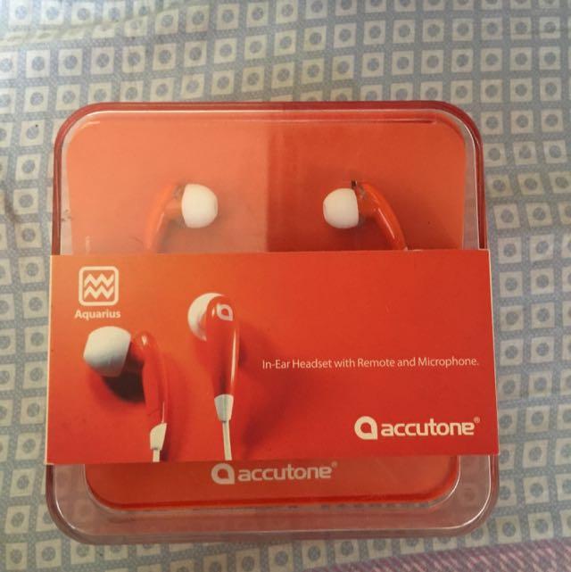 f3d8bc8060e Accutone Headset, Electronics, Audio on Carousell