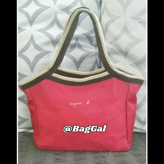 Agnes B. Small Shoppers Tote