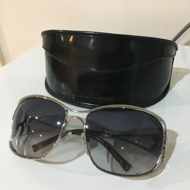 Authentic Ferragamo Swarovski Sunglasses