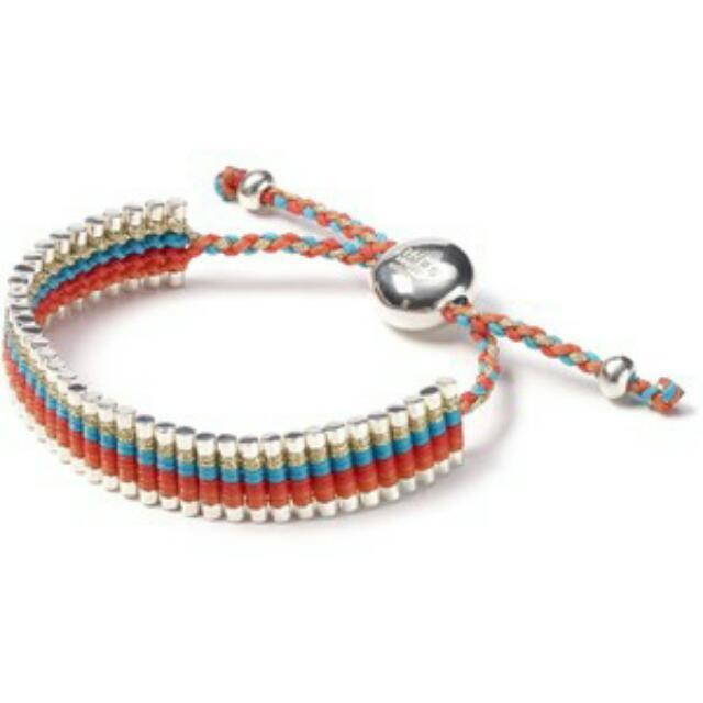 "Authentic Links Of London ""Cat Deeley"" Rainbow Bracelet"