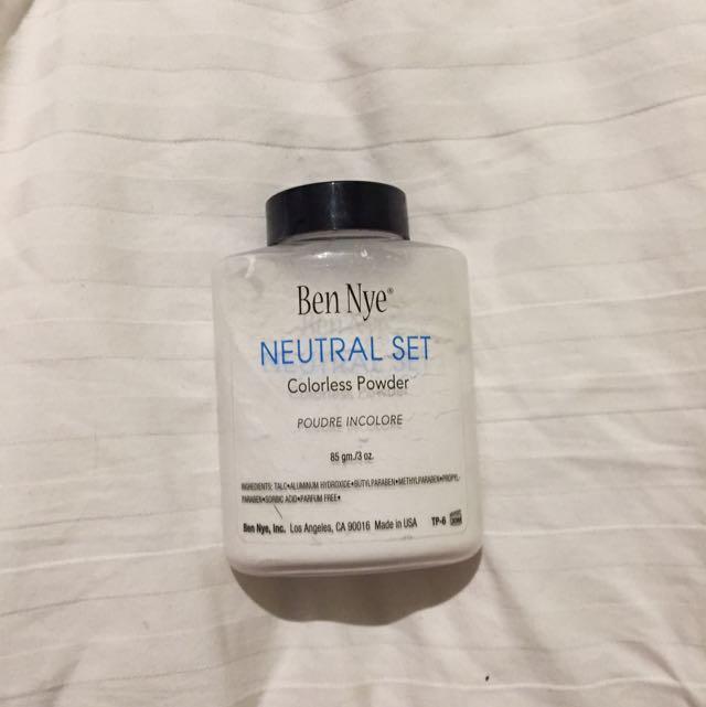 Ben Nye Colourless Powder