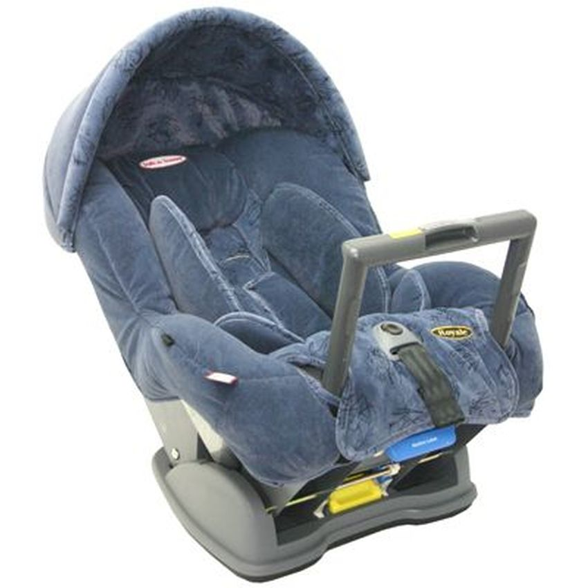 Britax: Safe-n-Sound Royale Blue Scribbles Car Seat, Babies & Kids