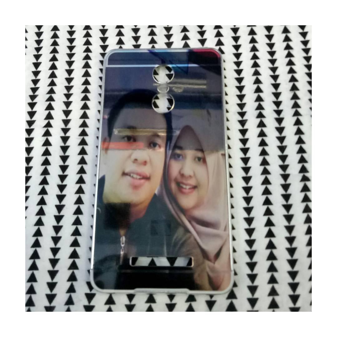 casing mirror custome xiaomi redmi note 3 bisa pake foto sendiri