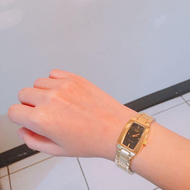 Casio 手錶 金色