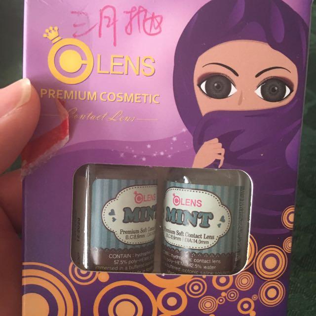 Coloured Contact lenses silicone hydro