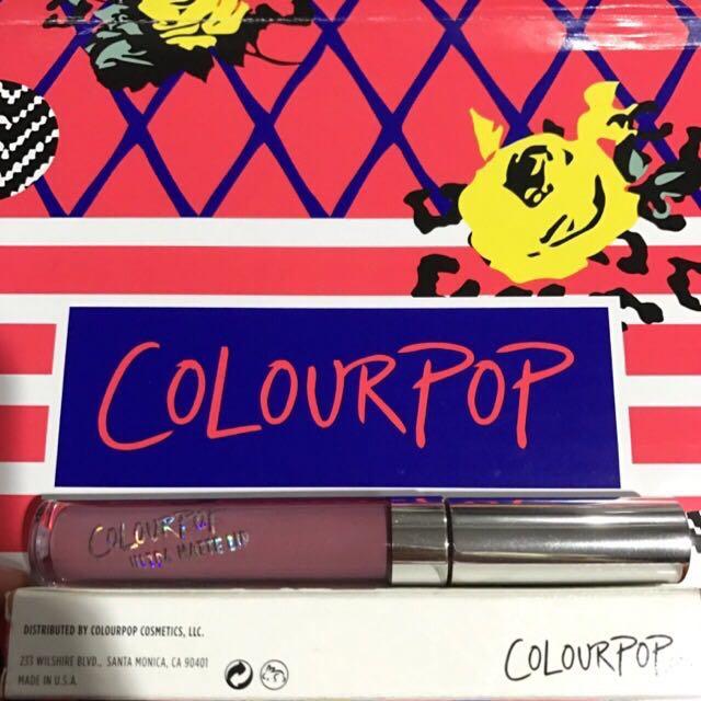 Colourpop Matte Lip Lumiere 2