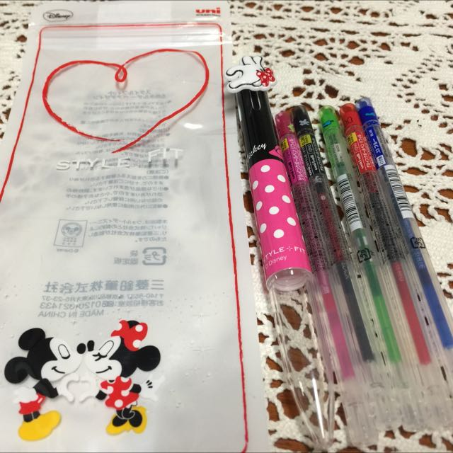 Disney Minnie Mouse五色筆
