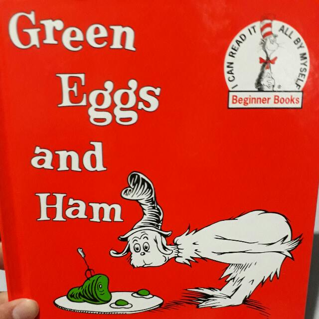 Dr Seuss' Green Eggs And Ham