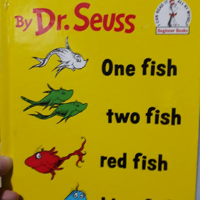Dr Seuss' One Fish Two Fish Red Fish Blue Fish