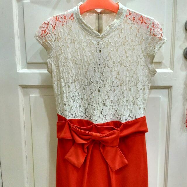 Dress Korea Lace