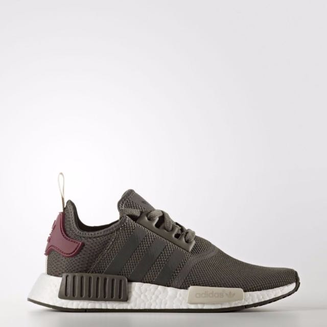 5bd6a373ca1f0  🐳ARRIVED🐳  NMD R1 Runner Utility Grey Maroon