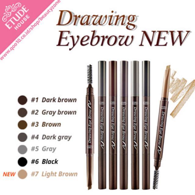 Etude Drawing Eyebrow