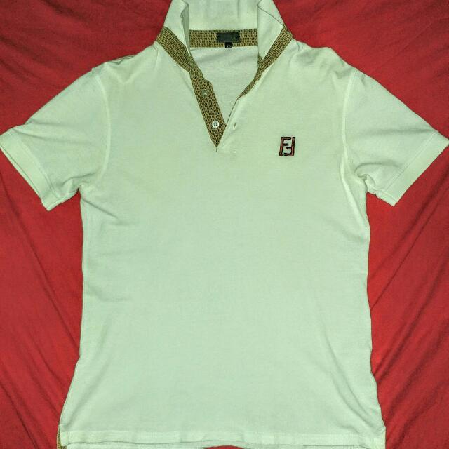 Fendi Collar Shirt