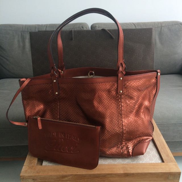 a806f37b0 Gucci 'Craft' Tote bag bag, Luxury, Bags & Wallets on Carousell