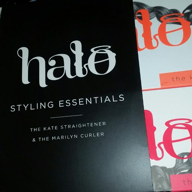 Halo straightener & curler