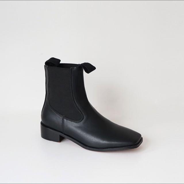 葒hong購入 方頭靴24.5