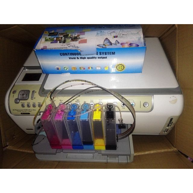 HP Photosmart c5180 USB 6 Color Inkjet AIO All In One