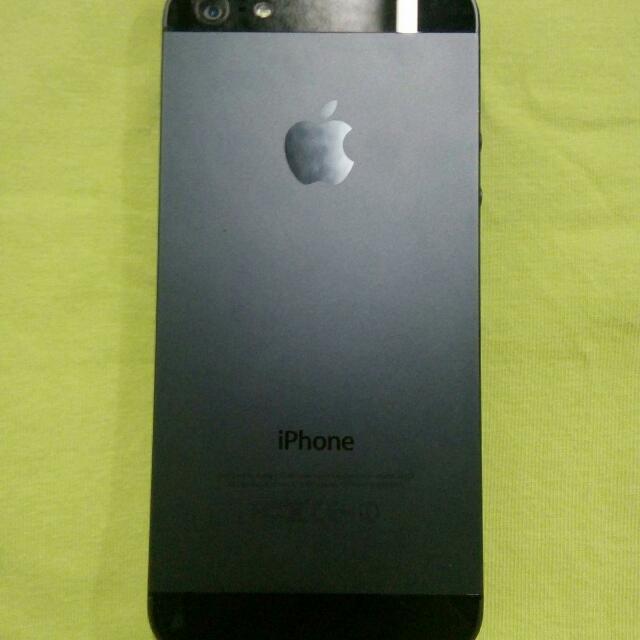 iPhone 5 16gb Globe Locked BLACK