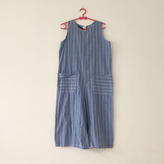 Jumpsuit Blue Stripes