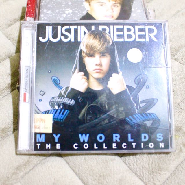 Justin Bieber My Worlds The Collection CD [2 disc]