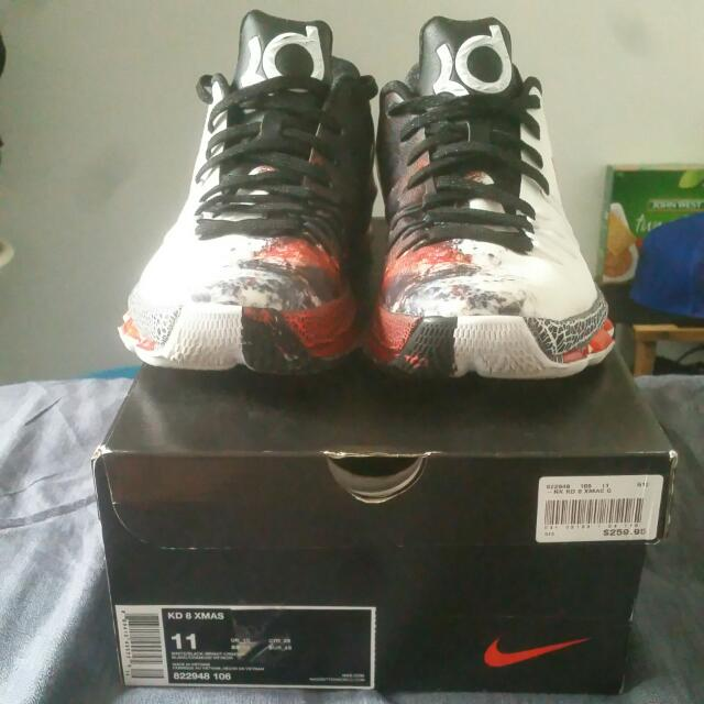 Kevin Durant 8 XMAS Size 11 Mens Basketball Shoes