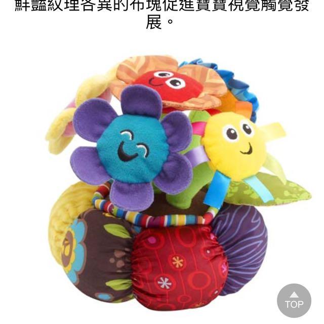 Lamaze 拉梅茲 嬰幼兒玩具 - 愛唱歌的小花朵