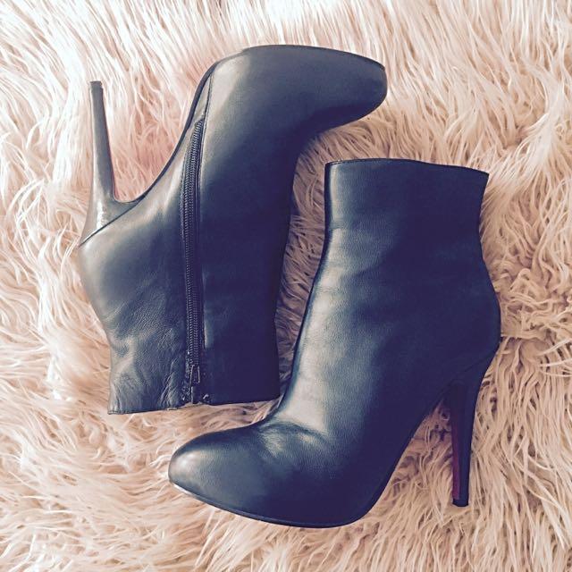Louboutin Heeled Boots