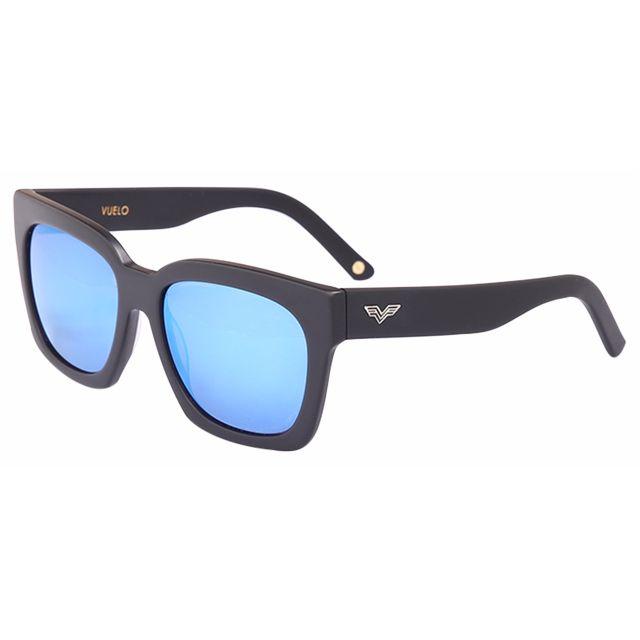 Matt Black Sunglasses by Vuelo Eyewear (Model PDX)