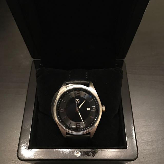 mercedes benz wrist watch elegant basic, luxury, watches on carousell