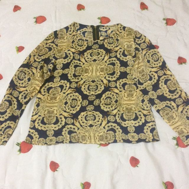 New Baju Motif Gold