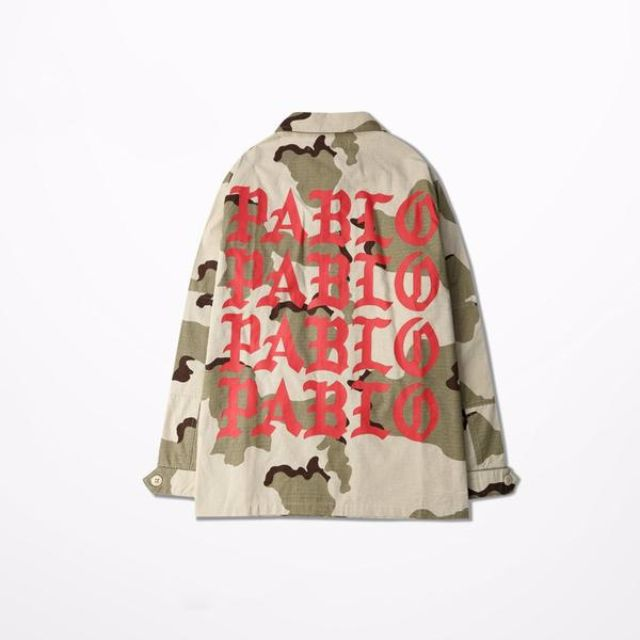 PABLO CAMO MILITARY OVERCOAT