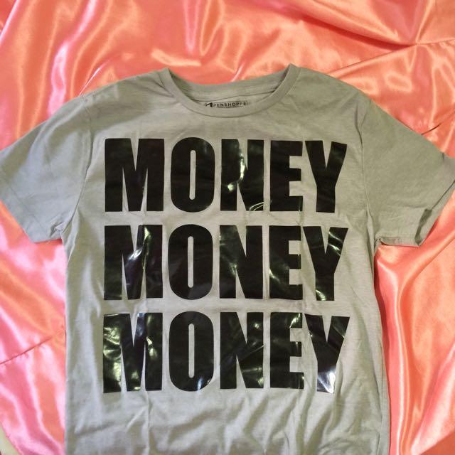 Penshoppe Money T-shirt