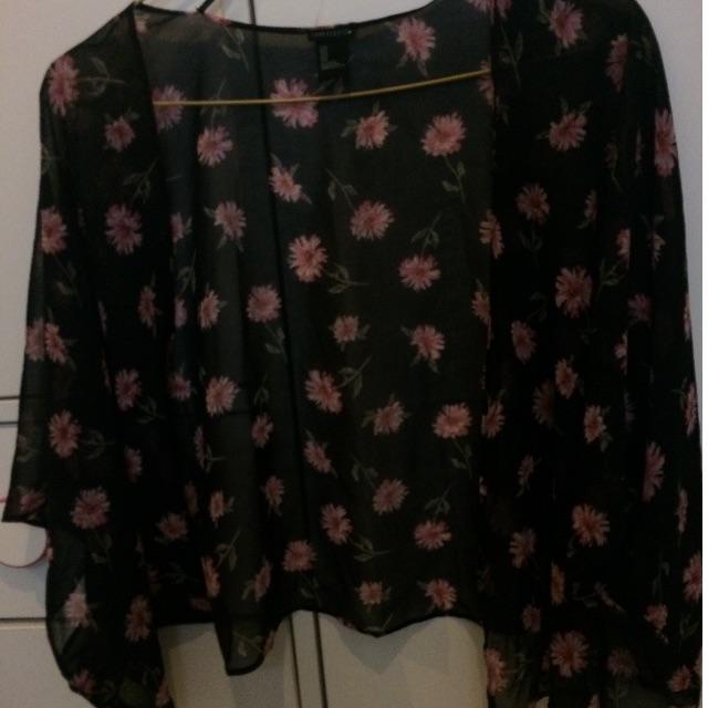 REPRICE blazer/kimono crop H&M