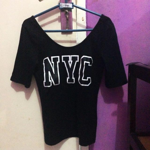 NYC kaos H&M