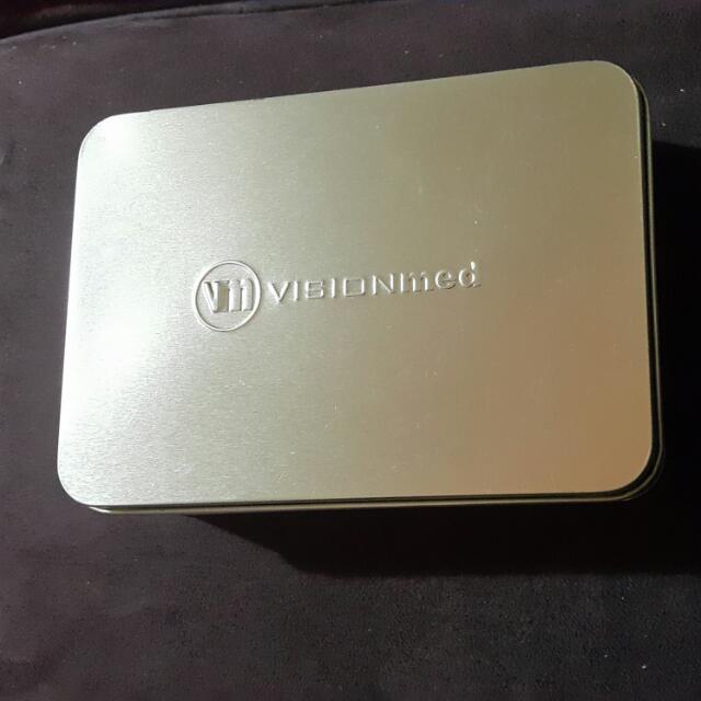 Small Alluminium Storage Tins
